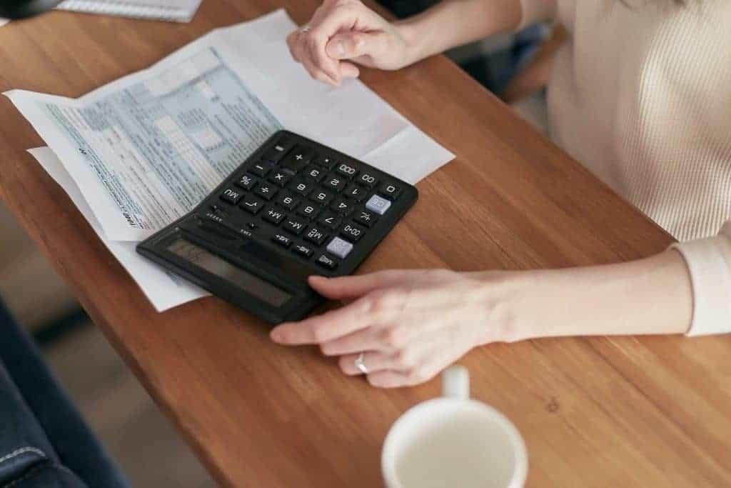 Conversiepercentage berekenen met rekenmachine
